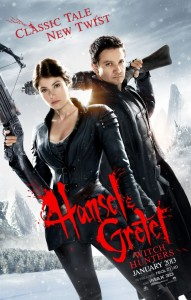 Hansel & Gretel – Witch Hunters Poster