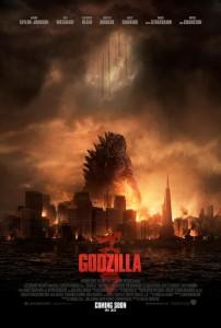 Godzilla (2014) Poster