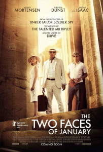 The Two Face of January Poster