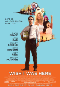 Wish I Was Here Filmposter