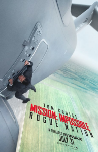 Mission: Impossible - Rogue Nation Filmplakat