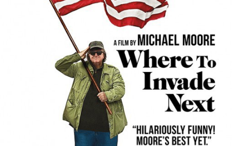 Where To Invade Next Filmplakat
