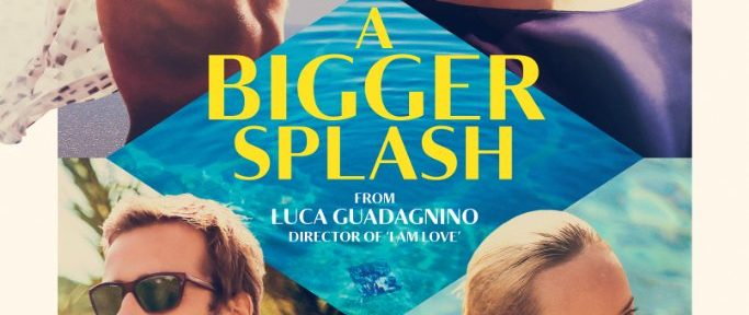 A Bigger Splash Filmplakat