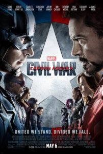 Captain America Civil War Filmplakat