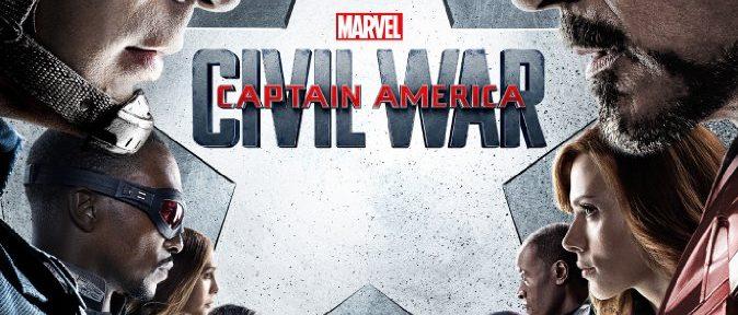 Captain America Civil War Filmplakat
