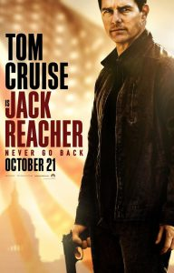 Jack Reacher Never Go Back Filmplakat