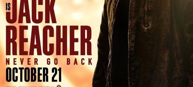 Jack Reacher Never Go Back Filmplakat