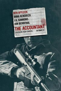 The Accountant Filmplakat