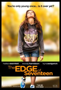 Filmplakat - The Edge of Seventeen