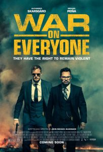 War on Everyone Filmplakat