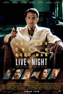 Live By Night Filmplakat