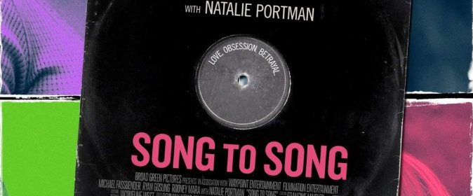 Filmplakat Song To Song